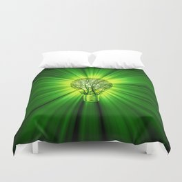 Think Green Duvet Cover