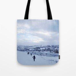 Walking down Iceland Tote Bag
