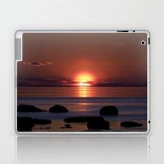 Shock-wave Sunset Laptop & iPad Skin