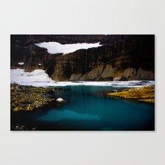 Grinell Glacier  Canvas Print