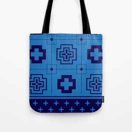 The Directions (Blue) Tote Bag