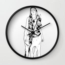 horses for courses II Wall Clock