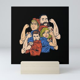 Empowered Family Bets Gift Mini Art Print