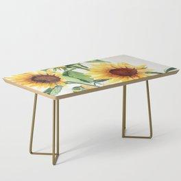 Sunflowers Coffee Table