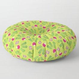Radish Garden Floor Pillow