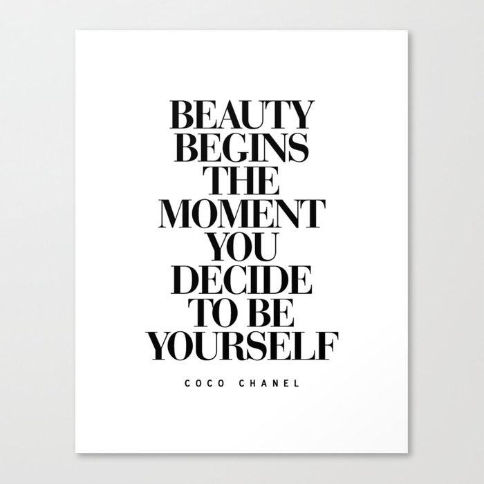 Beauty begins the moment you decide to be yourself black and white beauty begins the moment you decide to be yourself black and white quotes love life typography solutioingenieria Images
