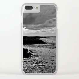 River to the open Danish Sea Clear iPhone Case