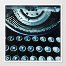 Typewriter Series, Image 1 Canvas Print