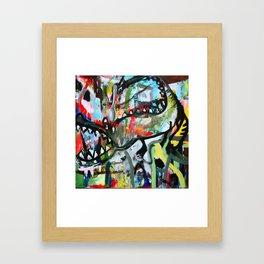Cocodrilo en harlem Framed Art Print