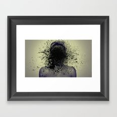 slinging Framed Art Print