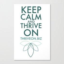 Thriveon.biz Canvas Print