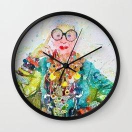 Lady Iris Wall Clock