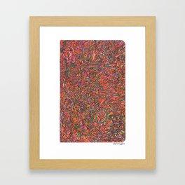 c20h25n3o Framed Art Print