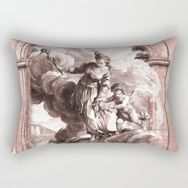 Love is Blind Rectangular Pillow