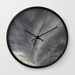 Cloud Wall Turning Wall Clock