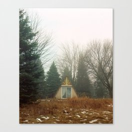 Triangle in the Woods Canvas Print
