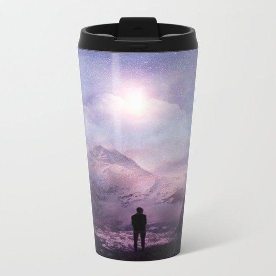 A new beginning III Metal Travel Mug