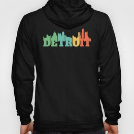 Detroit Michigan MI Gift 313 Pride Detroit City Hoody
