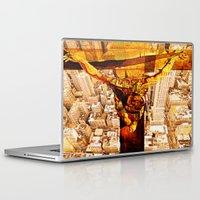 jesus Laptop & iPad Skins featuring Jesus by Joe Ganech