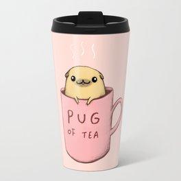 Pug of Tea Travel Mug
