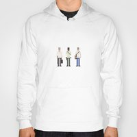 gta Hoodies featuring 8-bit GTA V by MrHellstorm