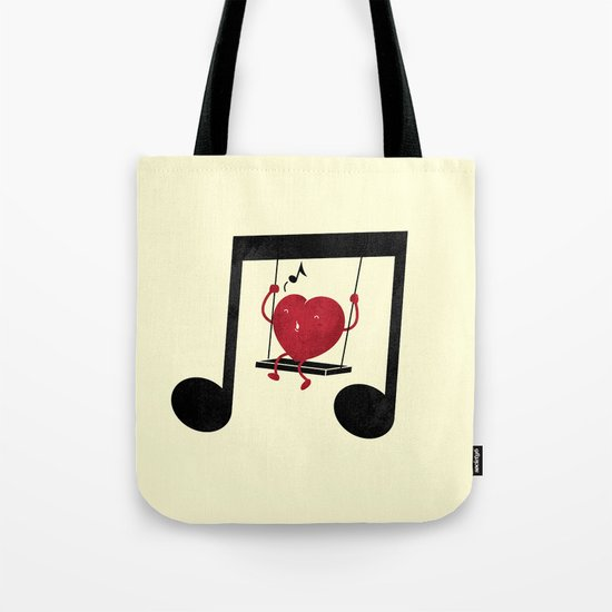 swing a LOVE song Tote Bag