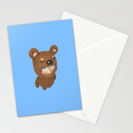 Furry baby Stationery Cards