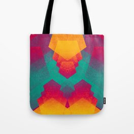 Pentagon Vibrancy Tote Bag