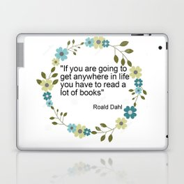 a book quote Laptop & iPad Skin