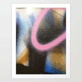 Philly.Graffiti.41 Art Print