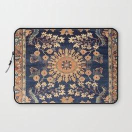 Sarouk Persian Floral Rug Print Laptop Sleeve