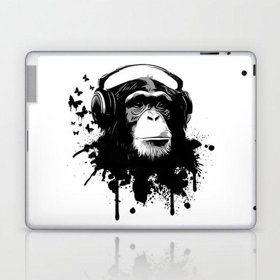 Monkey Business - White Laptop & iPad Skin