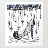 shoe Art Prints featuring Shoe by Kimberly McGuiness