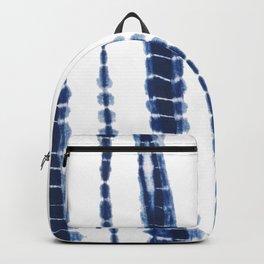 Indigo Blue Tie Dye Delight Backpack