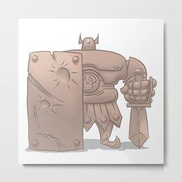 Armos Metal Print