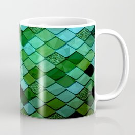 Watercolor Green Coffee Mug