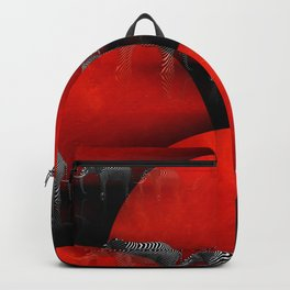 3D - abstraction - elephants- Backpack