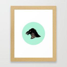 The Vulture. Framed Art Print