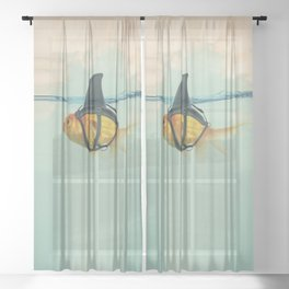 BRILLIANT DISGUISE 03 Sheer Curtain