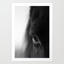 naked eyes Art Print