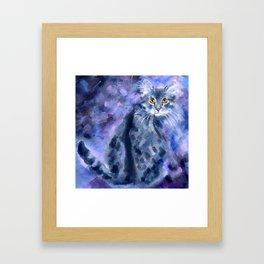 Silver Soft Framed Art Print