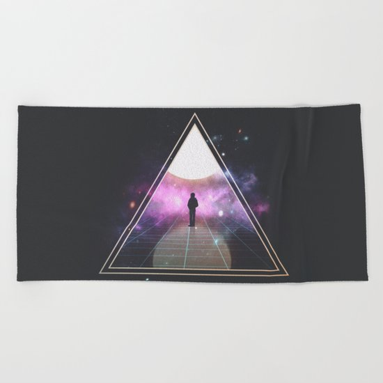 Triangulation  Beach Towel