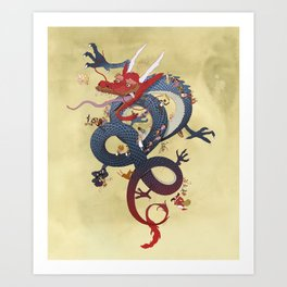 Year of the Dragon Art Print