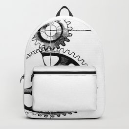 Gears. Backpack