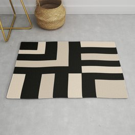 Black and Tan Rug