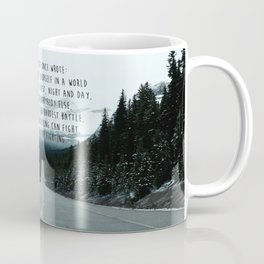 Quote for The Road Coffee Mug