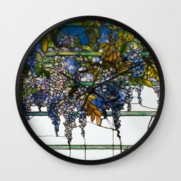 Louis Comfort Tiffany - Decorative stained glass 17. Wall Clock