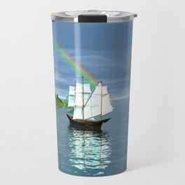 Reise zur Insel Travel Mug