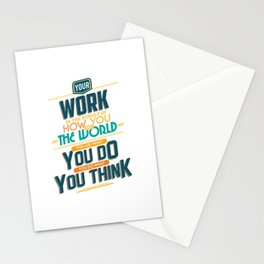 Nine Noble Virtues - Labour Stationery Cards