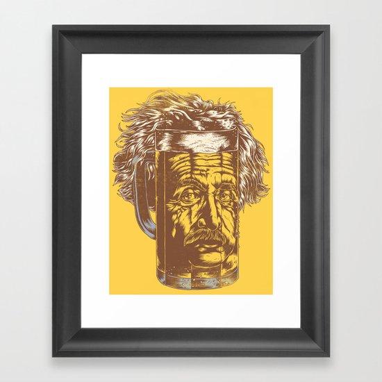 Ein Stein Framed Art Print